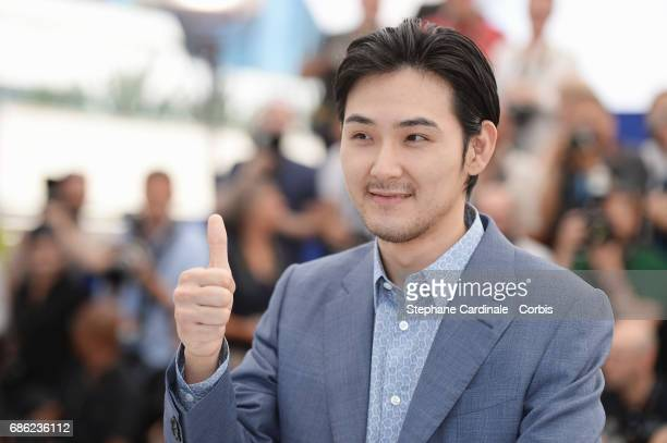 Ryuhei Matsuda attends 'Before We Vanish ' photocall during the 70th annual Cannes Film Festival at Palais des Festivals on May 21 2017 in Cannes...