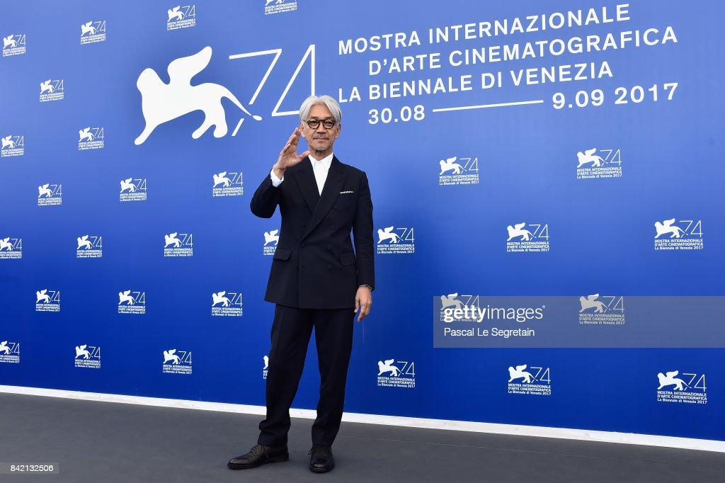 Ryuichi Sakamoto: Coda Photocall - 74th Venice Film Festival