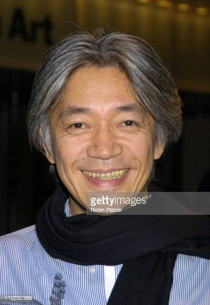 Ryuichi Sakamoto during The Museum of Modern Art ReOpens in Midtown Manhattan at Museum of Modern Art in New York New York United States