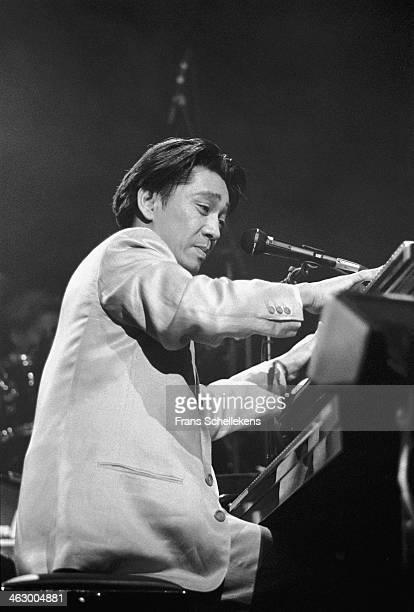 Ryuichi Sakamoto keyboards performs at Carre on 26th March 1990 in Amsterdam the Netherlands