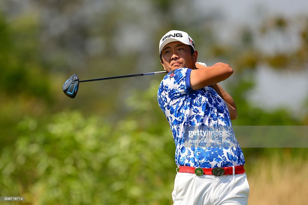 Ryutaro Nagano of Japan pictured during round three of the Leopalace21 Myanmar Open at Royal Mingalardon Golf and Country Club on February 6, 2016 in Yangon, Myanmar.