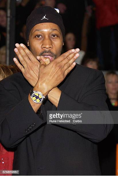 Rza from Wu Tang Clan attends The BAFTAs at the Odeon on Leicester Square