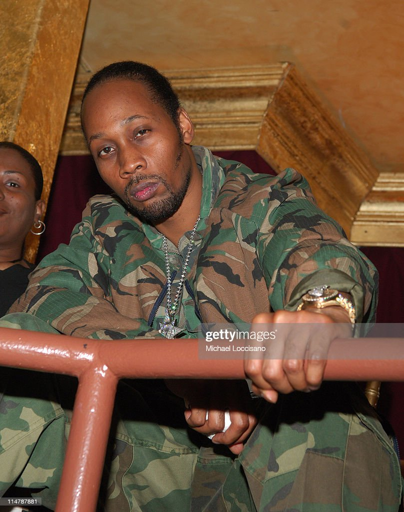 Rza of WuTang Clan during 2006 VH1 Hip Hop Honors Backstage and Audience at Hammerstein Ballroom in New York City New York United States