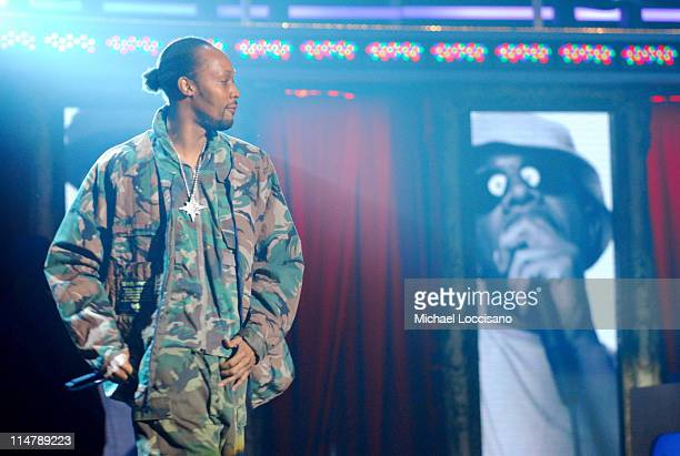 Rza of WuTang Clan during 2006 VH1 Hip Hop Honors Show at Hammerstein Ballroom in New York City New York United States