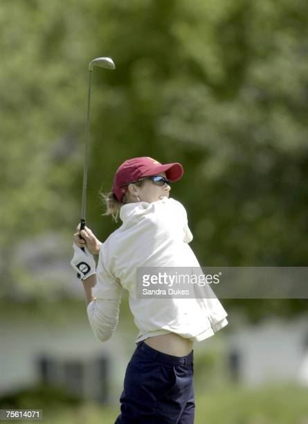 USC's Anna Rawson in action at the NCAA Division I Women's Golf Championships at the Birck Boilermaker Golf Complex at Purdue University in West...