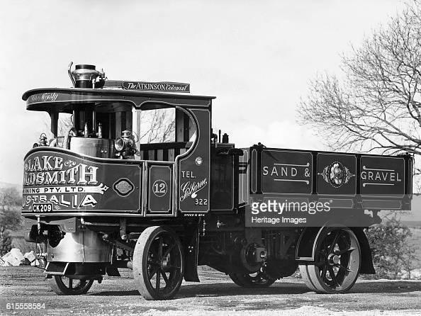 1920's Atkinson Steam Wagon Artist Unknown