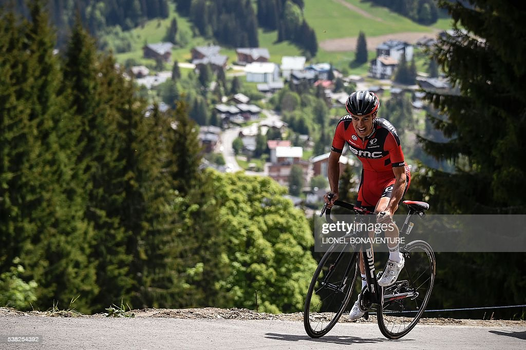 Criterium du dauphine prologue les gets getty images for Richie porte cyclist