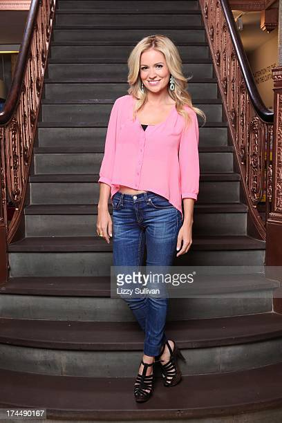 ABC's Bachelorette Emily Maynard poses at 'Make Meaning' May 20 2012 in New York City