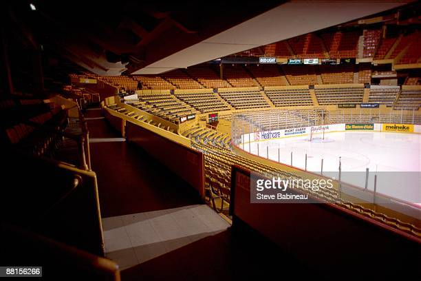 BOSTON MA 1980's Boston Garden home of the Boston Bruins