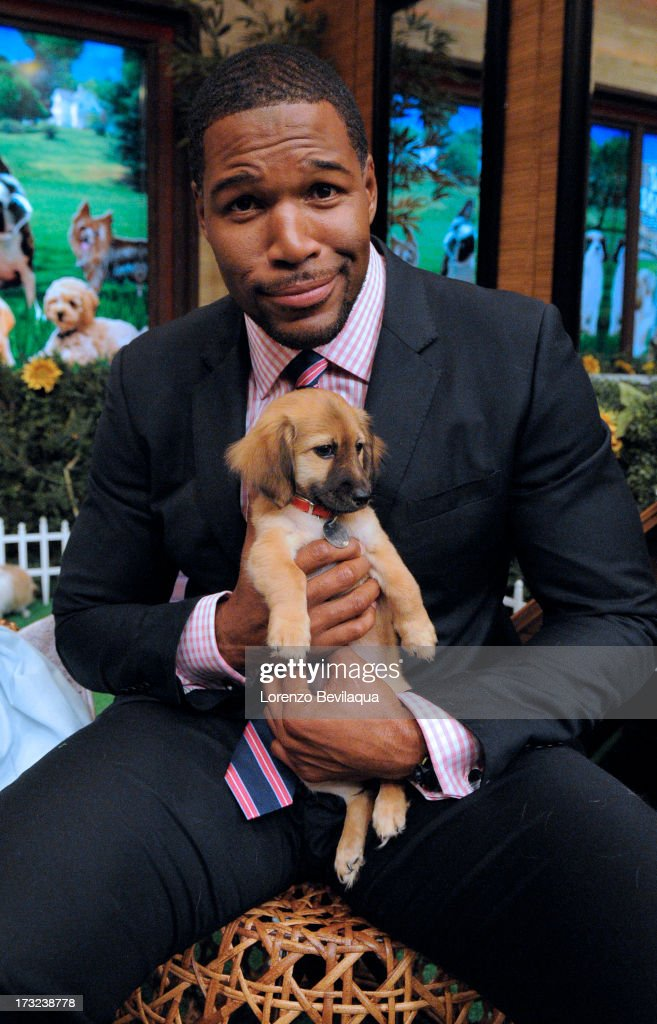 MICHAEL -8/19/13 - LIVE's 'Bow Wow Week: Puppy Edition' on 'LIVE with Kelly and Michael,' distributed by Disney-ABC Domestic Television. MICHAEL