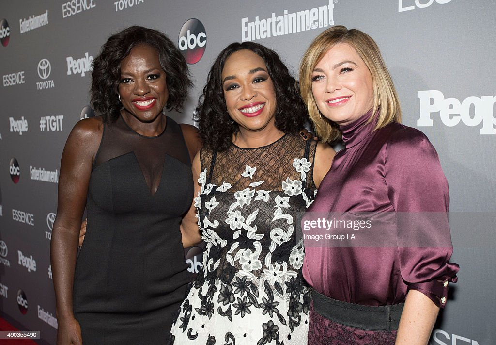 CORPORATE #TGIT's brightest stars and producers attended a special event presented by Toyota and cohosted by ABC and Time Inc's Entertainment Weekly...