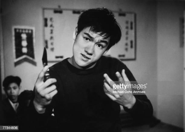 MID 1960's Bruce Lee portrays a young thug in an early TV performance circa the mid 1960's in Los Angeles California