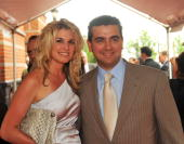TLC's Cake Boss Buddy Valastro and his wife Lisa Valastro attend the 3rd Annual New Jersey Hall of Fame Induction Ceremony at the New Jersey...