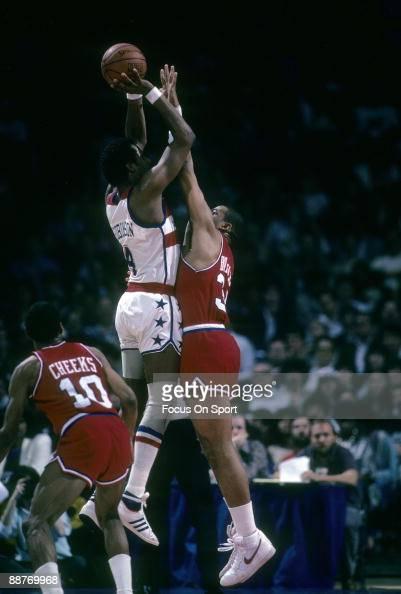 Philadelphia 76ers v Washington Bullets Pictures | Getty ...