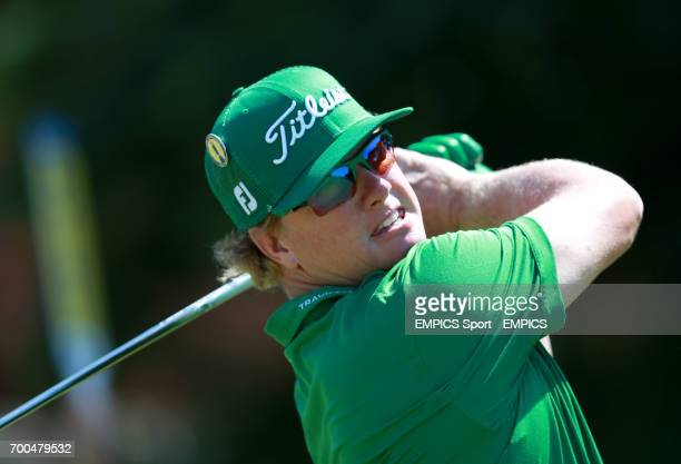 USA's Charley Hoffman during day one of the 2014 Open Championship at Royal Liverpool Golf Club Hoylake