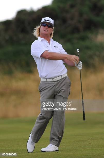 USA's Charley Hoffman during practice day three at Turnberry Golf Club