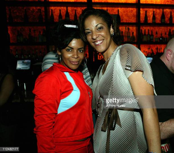 WWPR's Cherry Martinez and Steph Lova during Jadakiss' 'Kiss Of Death' Album Release Party at Deep in New York City New York United States