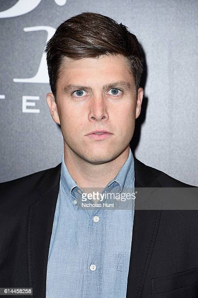SNL's Colin Jost attends iPic Theaters Fulton Market Opening Gala at the Seaport District / Screening of Netflix's Mascots on October 13 2016 in New...