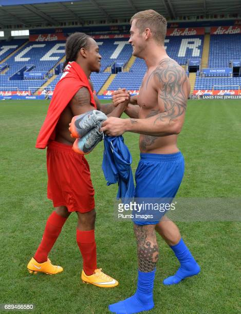 TOWIE's Dan Osborne after the Celebrity Charity Football Match at King Power Stadium on MAY 28 2017 in Leicester United Kingdom