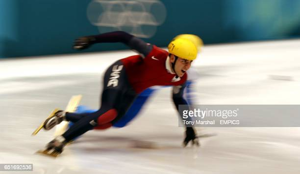 USA's Daniel Weinstein in action during the race
