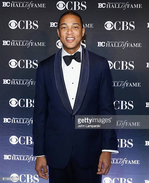 CNN's Don Lemon attends 2016 Broadcasting Cable Hall of Fame 26th Anniversary Gala at The Waldorf=Astoria on October 18 2016 in New York City