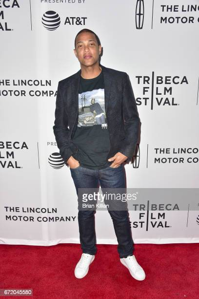 CNN's Don Lemon attends the 2017 Tribeca Film Festival 'The Clapper' screening at SVA Theatre on April 23 2017 in New York City