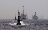 NATO's Dynamic Mongoose antisubmarines exercise in the North Sea off the coast of Norway on May 4 2015 AFP PHOTO / NTB SCANPIX / Marit Hommedal...