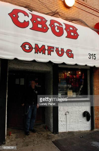 CBGB's, East Village.