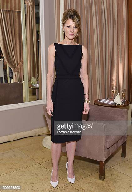 ELLE's EditorInChief Robbie Myers attends ELLE's 6th Annual Women in Television Dinner Presented by Hearts on Fire Diamonds and Olay at Sunset Tower...