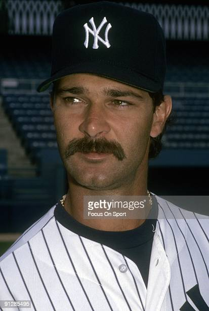 BRONX NY CIRCA 1980's First baseman Don Mattingly of the New York Yankees before a mid circa 1980's Major League baseball game at Yankee Stadium in...