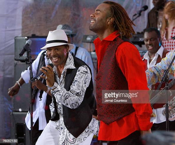 80's Funk and Soul Band 'Kool and the Gang' perform at NBC's 'Today' Show Summer Concert Series at Rockefeller Center on August 10 2007 in New York...