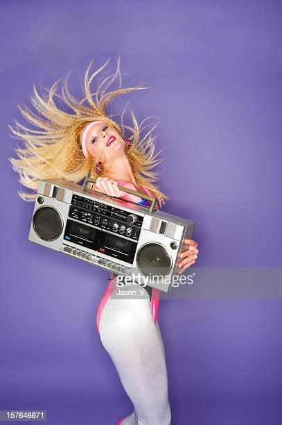 1980's Girl dancing
