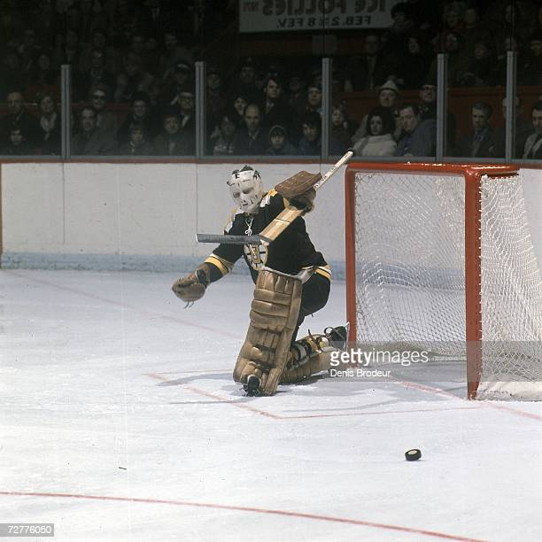 CANADA 1970's Goaltender Gerry Cheevers of the Boston Bruins
