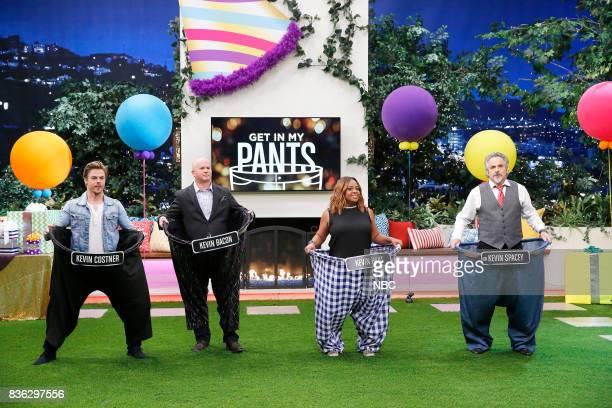 NIGHT 'HGN's Got Talent' Episode 504 Pictured Derek Hough Contestant Sherri Shepherd David Feherty