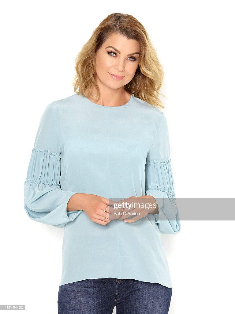 S ANATOMY - ABC's 'Grey's Anatomy' stars Ellen Pompeo as Meredith Grey.
