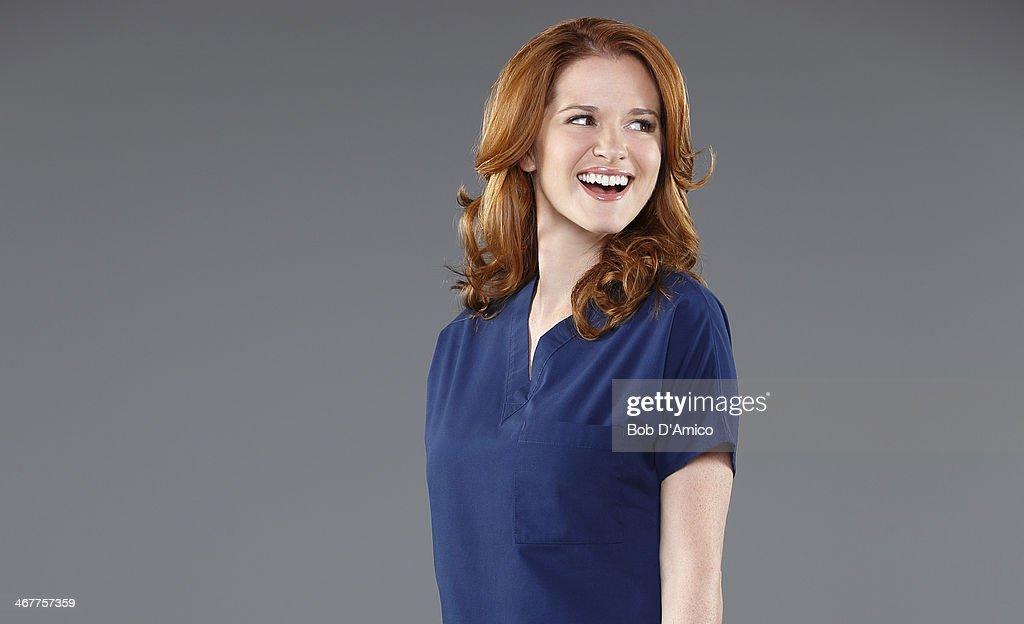 S ANATOMY ABC's 'Grey's Anatomy' stars Sarah Drew as Dr April Kepner