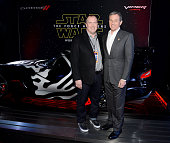 FCA's Hal Wurster and Chairman and CEO The Walt Disney Company Bob Iger attend the premiere of Walt Disney Pictures and Lucasfilm's 'Star Wars The...