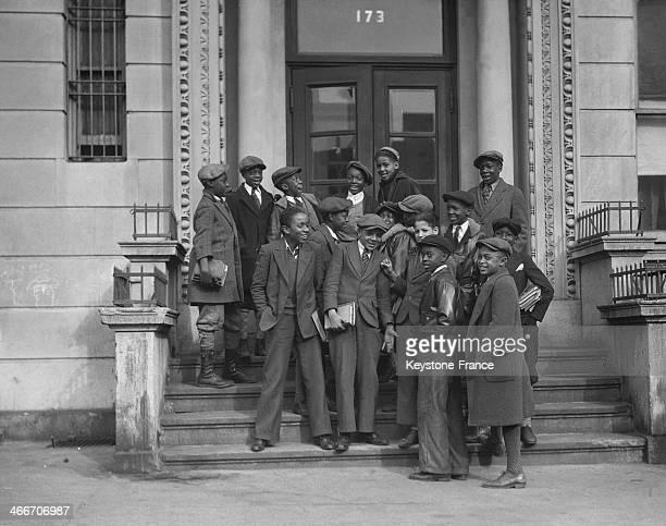 STATES 1930's Harlem schoolboy