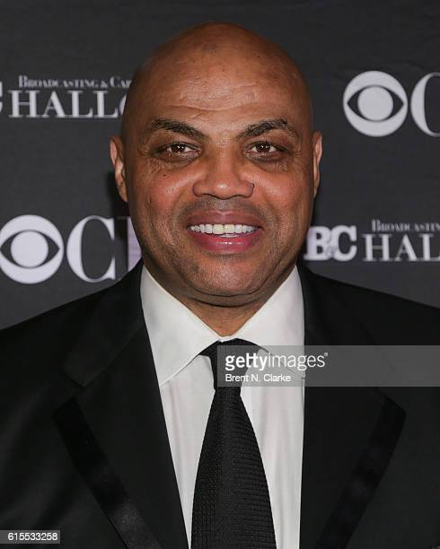TNT's Inside the NBA/event honoree Charles Barkley attends the Broadcasting Cable Hall of Fame 26th Anniversary Gala held at The Waldorf=Astoria on...