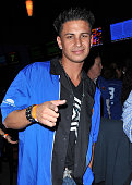 MTV's Jersey Shore Pauly DelVecchio attends New York Knicks Bowl on February 1 2010 in New York City