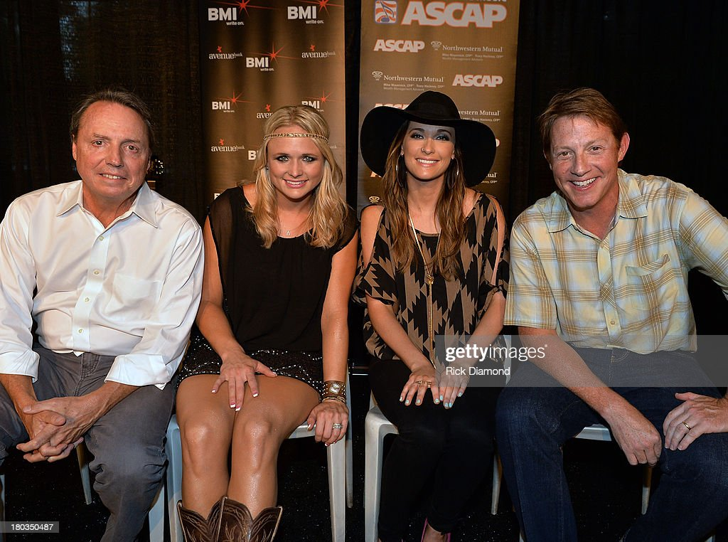 BMI's Jody Williams, Co-writer <a gi-track='captionPersonalityLinkClicked' href=/galleries/search?phrase=Kacey+Musgraves&family=editorial&specificpeople=4103138 ng-click='$event.stopPropagation()'>Kacey Musgraves</a> and BMI's Clay Bradley Celebrate <a gi-track='captionPersonalityLinkClicked' href=/galleries/search?phrase=Miranda+Lambert&family=editorial&specificpeople=571972 ng-click='$event.stopPropagation()'>Miranda Lambert</a>'s No.1 Song 'Mama's Broken Heart' with co writers <a gi-track='captionPersonalityLinkClicked' href=/galleries/search?phrase=Kacey+Musgraves&family=editorial&specificpeople=4103138 ng-click='$event.stopPropagation()'>Kacey Musgraves</a>, Brandy Clark and Shane McAnally performed by <a gi-track='captionPersonalityLinkClicked' href=/galleries/search?phrase=Miranda+Lambert&family=editorial&specificpeople=571972 ng-click='$event.stopPropagation()'>Miranda Lambert</a> at Cabana on September 11, 2013 in Nashville, Tennessee.