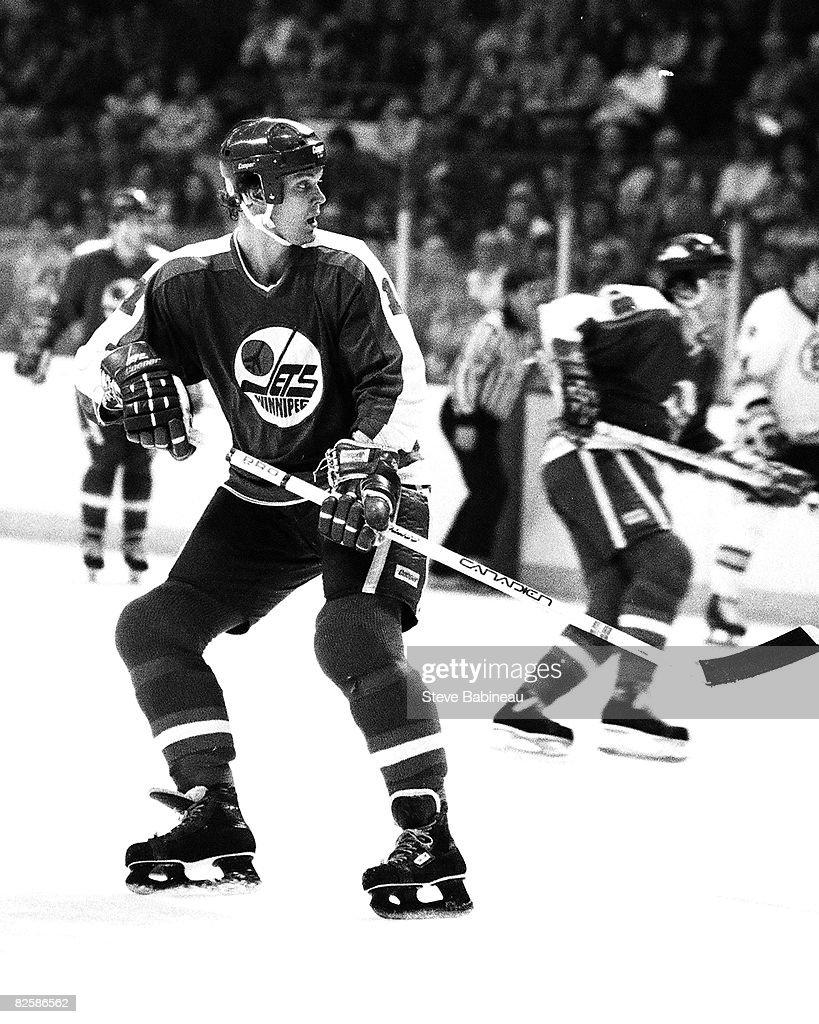 Roller skates winnipeg - Boston Ma 1980 S Laurie Boschman 12 Of The Winnipeg Jets Skates In