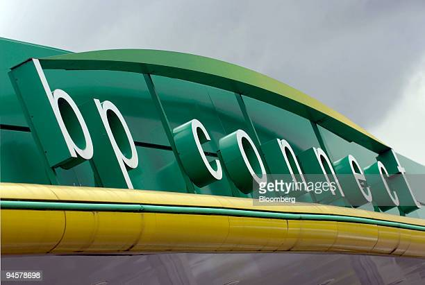 BP's logo is seen at a BP service station in Newmarket UK Wednesday July 18 2007 BP Plc dropped in London trading after the Financial Times said...