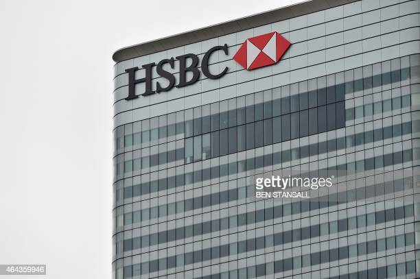 HSBC's London headquarters are pictured in London on February 25 2015 HSBC chief executive Stuart Gulliver and chairman Douglas Flint are facing a...