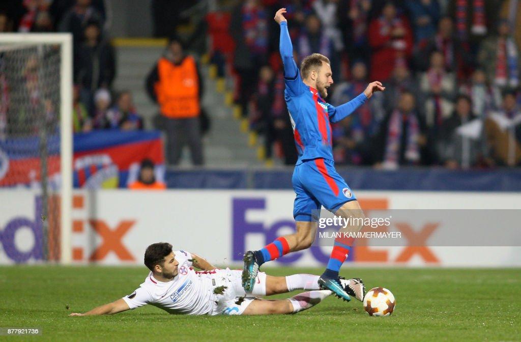 Viktoria Plzen v Steaua Bucuresti - UEFA Europa League
