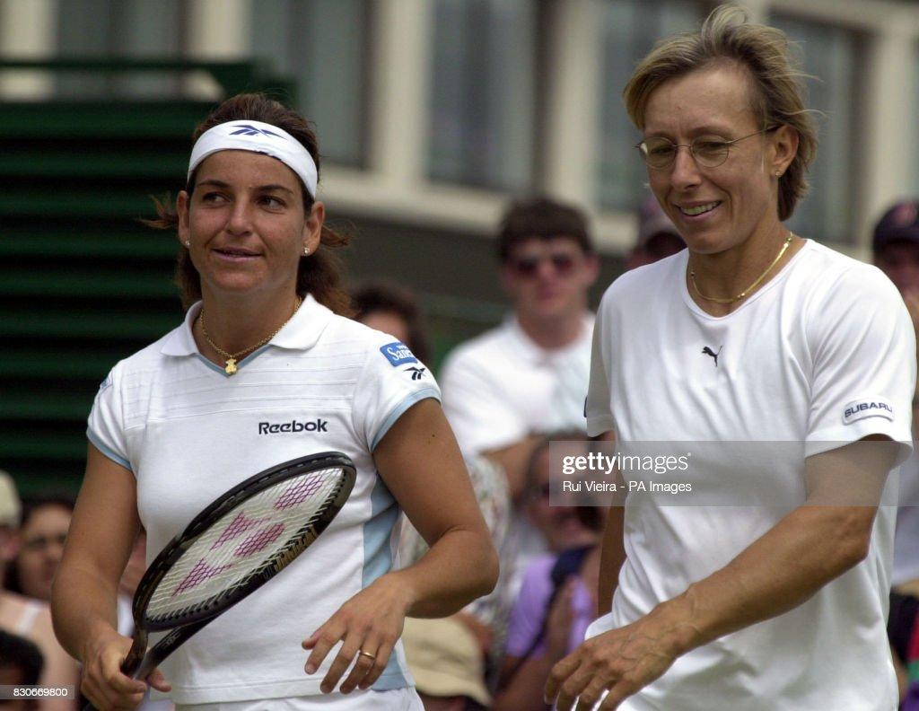 Navratilova & Sanchez Vicario