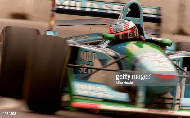 GERMANY's MICHAEL SCHUMACHER IN ACTION DURING THE AUSTRALIAN GRAND PRIX AT ADELAIDE SCHUMACHER WAS LATER AWARDED THE FORMULA ONE WORLD CHAMPIONSHIP...