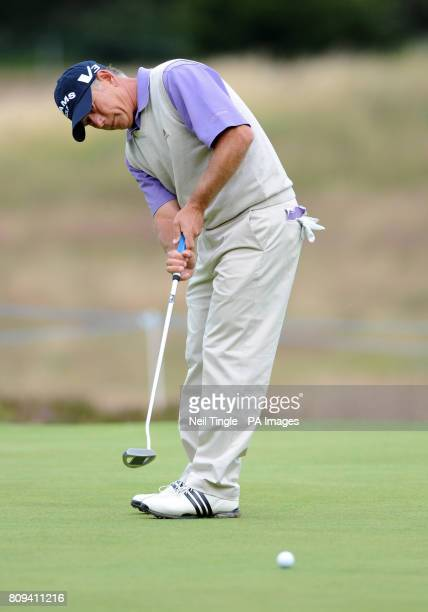 USA's Mike Goodes during Round Three of the Senior Open Championship at Walton Heath Golf Club Surrey