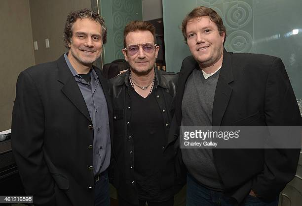 ASCAP's Mike Todd Bono and ASCAP's Jeff Jernigan attend The Weinstein Company Hosts A Private Party With U2 In Support Of Their Original Song...