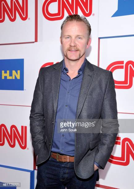 CCN's Morgan Spurlock attends the 2014 TCA Winter Press Tour CNN AfterParty on January 10 2014 in Pasadena California